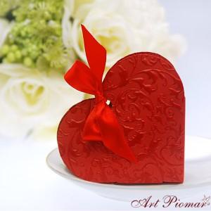 Pudełeczko serce czerwone