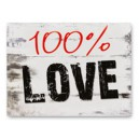 Naklejki na buty 100% Love