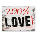 Naklejki na buty 200% Love