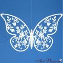 Papierowy motyl  6,5x4 cm