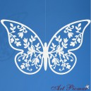 Papierowy motyl 8x5 cm