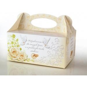 Pudełko na ciasto GOŁĄBKI