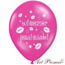 """Balon na wieczór panieński   """"Wieczór Panieński"""" różowy"""