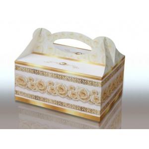 Pudełko na ciasto ZŁOTE