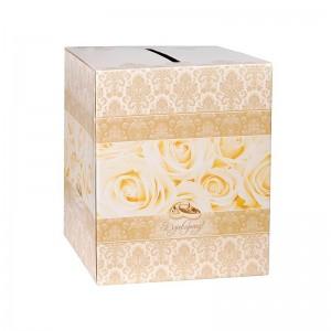 Pudełko na koperty ZŁOTE DEKORY