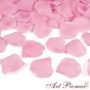 Konfetti - płatki róż 100 szt różowe