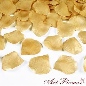 Konfetti - płatki róż 100 szt złote