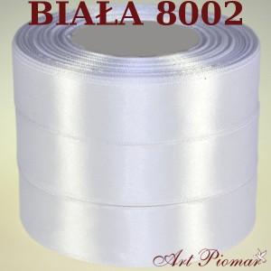 Tasiemka satynowa 12mm kolor 8002 biały
