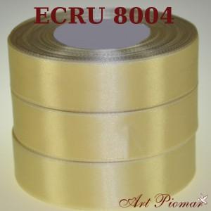 Tasiemka satynowa 12mm kolor 8004 ecru
