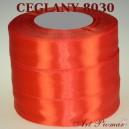 Tasiemka satynowa 12mm kolor 8030 Ceglany