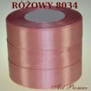 Tasiemka satynowa 12mm kolor 8034 Różowy