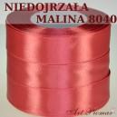 Tasiemka satynowa 12mm kolor 8041 Niedojrzała malina