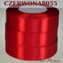 Tasiemka satynowa 12mm kolor 8055 Czerwona
