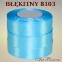 Tasiemka satynowa 12mm kolor 8103 Błękitny