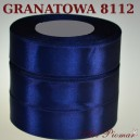 Tasiemka satynowa 12mm kolor 8112 Granatowa