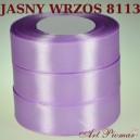 Tasiemka satynowa 12mm kolor 8113 Jasny wrzos