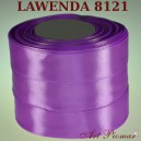 Tasiemka satynowa 12mm kolor 8121 Lawenda
