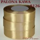 Tasiemka satynowa 12mm kolor 8126 Palona kawa