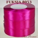 Tasiemka satynowa 25mm kolor 8053 fuksja