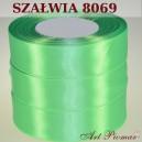 Tasiemka satynowa 25mm kolor 8069 szałwia