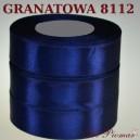 Tasiemka satynowa 25mm kolor 8112 granatowy