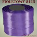 Tasiemka satynowa 25mm kolor 8115 fioletowy