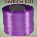Tasiemka satynowa 25mm kolor 8121 lawendowy