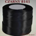Tasiemka satynowa 25mm kolor 8141 czarny