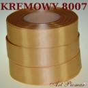 Tasiemka satynowa 6mm kolor 8007 kremowy
