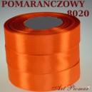 Tasiemka satynowa 6mm kolor 8020 pomarańczowy