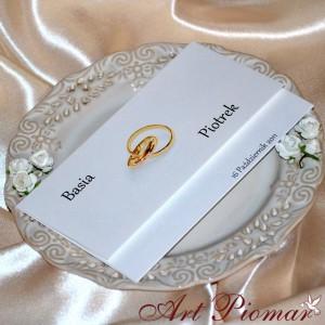 Zaproszenie ślubne Magnolia