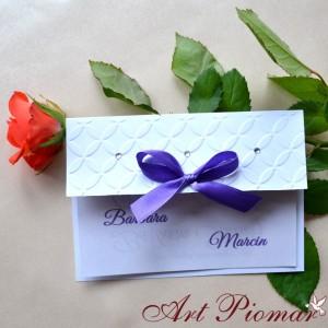 Zaproszenie ślubne Natalia