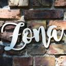 ŻONA - duży napis ze sklejki