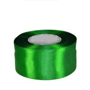 Tasiemka satynowa 50mm kolor 8086 zielony