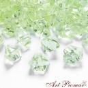 Lód kryształowy 60 szt zielony