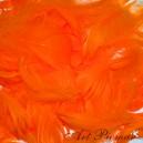 Piórka krótkie 10 g pomarańcz