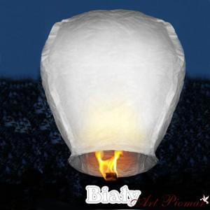 Lampion latający biały