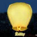 Lampion latający żółty