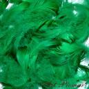 Piórka krótkie 10 g zielone
