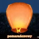 Lampion latający pomarańczowy