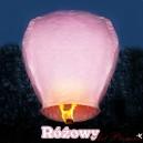 Lampion latający różowy