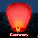 Lampion latający czerwony