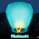 Lampion latający niebieski